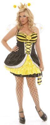 queen bee light up costume bee costumessexy halloween costumesadult costumesplus size - Cheap Plus Size Halloween Costumes 4x