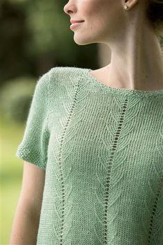 Belgravia Tee - Media - Knitting Daily