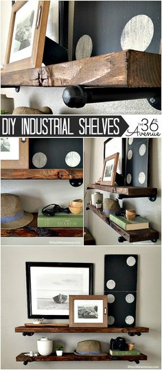Industrial shelves y
