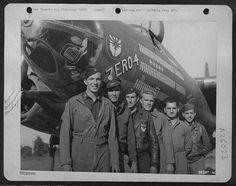 """Zero-4""Martin B-26C-10-MO Marauders/n 41-34868437th Bomb Squadron, 319th Bomb GroupAircraft is showing 150 mission symbols."