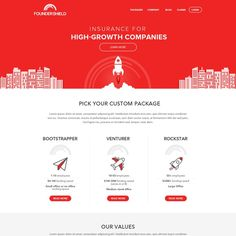 Founder Shield website redesign with clean, intuitive UX by Design Injector
