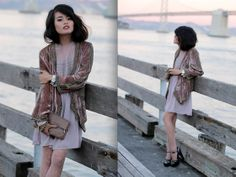 """her cardigan!! love this look. """"Down By The Bay"""" by Olivia Lopez on LOOKBOOK.nu"""
