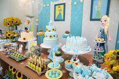 Festa Frozen Fever | Aniversário da Lela e da Nana