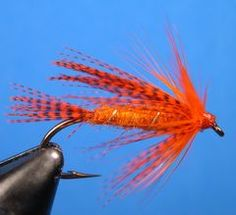 Pan fish fly from Warm Water Fly Tying.