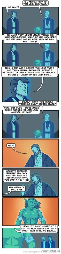 Bahahahaha!!!! This is awesome. Yoda can haunt me any day he wants if he looks like that!