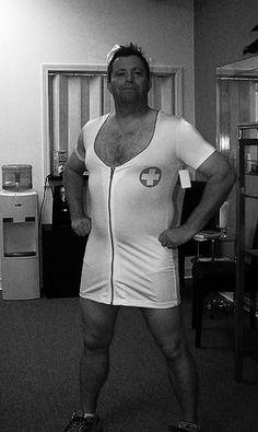 Image result for ugly man nurse