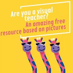 Are you a visual teacher? An amazing free resource based on pictures | Blog de Cristina