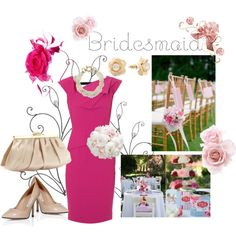 """bridesmaid"" by blueasthesky on Polyvore"