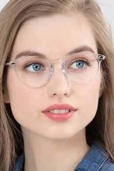 Mood Translucent Acetate Eyeglasses from EyeBuyDirect. Discover exceptional style, quality, and price. This frame is a great addition to any collection. Glasses For Face Shape, Cute Glasses, New Glasses, Girls With Glasses, Ladies Glasses, Girl Glasses, Pink Glasses Frames, Womens Glasses Frames, Eyeglasses Frames For Women