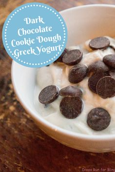I love snacking and have a serious sweet tooth. Check out this easy healthy recipe for dark chocolate cookie dough greek yogurt for the next time you need a healthy snack