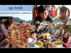 Breakfast, Lunch, and Travel at Siem Reap Province in Cambodia, Southeas...
