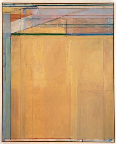 Richard Diebenkorn: Ocean Park Series (sfmoma) I always think of the LA beaches when I see this series. Richard Diebenkorn, Artist Inspiration, Richard, Abstract Painting, Bay Area Figurative Movement, Infinite Art, Art, Abstract, Art World