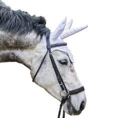 Unicorn, unicorn fly bonnet, white unicorn, horse pic, horse costume, #etsy shop te kunnen delen: Wit eenhoorn oornetje, eenhoorn vliegenmuts, paard eenhoorn, pony oornetje wit, verjaardags cadeau, bruids cadeau, eenhoorn, unicorn wit http://etsy.me/2tpzWq1