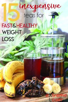 15 Inexpensive Teas For Fast and Healthy Weight Loss | With these teas you will be able to detox your body fast and lose fat fast