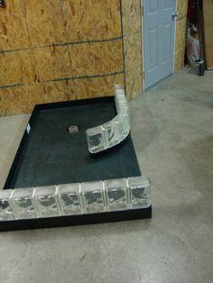 Ready for tile shower base exanded polystyrene DSC00264 Wet Room Shower, Bathroom Tub Shower, Walk In Shower, Shower Doors, Small Bathroom, Bathrooms, Shower Remodel, Bath Remodel, Custom Shower Base