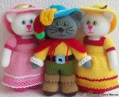 Mesmerizing Crochet an Amigurumi Rabbit Ideas. Lovely Crochet an Amigurumi Rabbit Ideas. Knitted Dolls Free, Knitted Doll Patterns, Animal Knitting Patterns, Crochet Dolls, Knitted Teddy Bear, Little Cotton Rabbits, Knitted Animals, Stuffed Toys Patterns, Knitting Projects