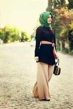 Caftan et djellaba de Maroc: hijab moderne 2015