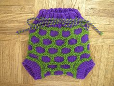 Awesome wool diaper cover, designed with cloth diapering in mind (though it is cute over disposibles).