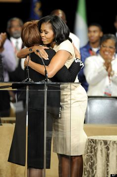 First Lady Michelle Obama, Bishop Vashti Murphy McKenzie