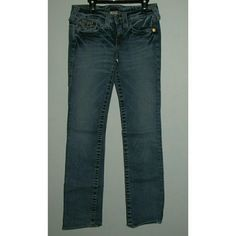 Billy True Religion jeans Light wash jeans are in good condition. Inseam 32 True Religion Jeans