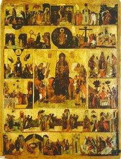 Order that the faithful may find el Peregrino Ruso Vintage Ads, Vintage World Maps, Orthodox Catholic, Blessed Virgin Mary, Orthodox Icons, 14th Century, Religious Art, Our Lady, Byzantine