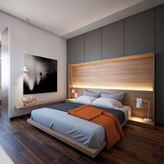 This is a Bedroom Interior Design Ideas. House is a private bedroom and is usually hidden from our guests. Much of our bedroom … Elegant Bedroom Design, Design Bedroom, Luxury Home Decor, Minimalist Bedroom, Minimalist Decor, Apartment Interior, Luxurious Bedrooms, Bed Design, Bedroom Decor