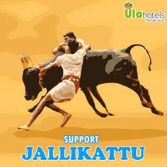 If You Don't Want Your Kids To See This Animal In Museum And Textbook. #jallikattu
