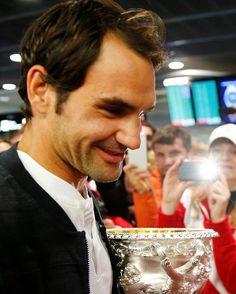 what a cute close up ❤ #tennis #federer #rogerfederer #atpworldtour #nike