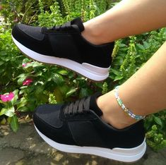 Cute Sneakers, Cute Shoes, Shoes Sneakers, Sneakers Fashion Outfits, Fashion Shoes, Adidas Shoes Women, Sneaker Boots, Dream Shoes, Mode Style