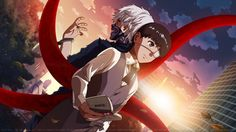 Ken Kaneki Kagune White Hair Mask High Resolution Anime 2560x1440