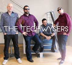 Newest Pop Boy Band - The TechWysers with their newest single 301 Redirect to My Heart!