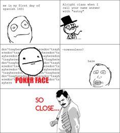 My brain and spanish