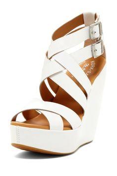 KORK-EASE Hailey Wedge Sandal by Wedge Frenzy on @HauteLook