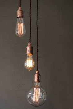 New Modern Vintage Industrial Retro Loft Glass Ceiling Lamp Shade - Kitchen ceiling light bulbs