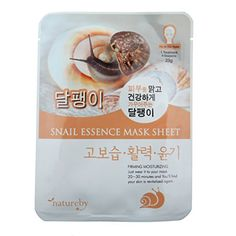 Natureby 10pcs Snail Essence Mask Sheets *** You can find more details by visiting the image link.