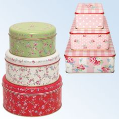 GreenGate Storage Tins for my biccies but then I would never ever want to give them away!