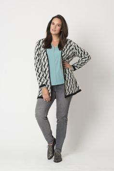 Mint Cardigan | Fashion | Plussize fashion | Vest