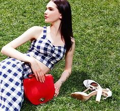 Check mate: Make the move for summer's most-wanted print. #SpringOutfit
