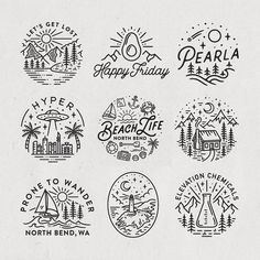 Worked on a lot of circular logo and illustration projects t.- Worked on a lot of circular logo and illustration projects this last month appar Worked on a lot of circular logo and illustration projects this last month appar… – - Doodle Drawings, Easy Drawings, Doodle Art, Tattoo Drawings, Tattoo Art, Pencil Drawings, Logo Circulaire, Kreis Logo, Sweet Logo