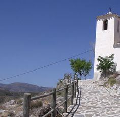 Fuencaliente chapel...  Via Verde Hijate - Seron walking trail