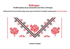 Cross Stitch, Hair Accessories, Embroidery, Writing, How To Make, Romania, Europe, Traditional, Folklore
