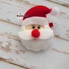 Spinka do włosów Święty Mikołaj filc Christmas Ornaments, Holiday Decor, Children, Home Decor, Young Children, Boys, Decoration Home, Room Decor, Christmas Jewelry