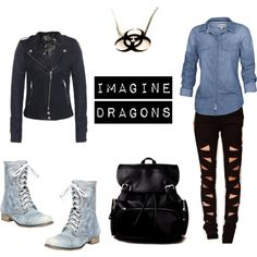 """Imagine Dragons"" by wolfangie44 on Polyvore"