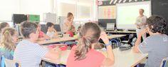 """Los escolares de Murla en Alicante aprenden a comer saludable con """"Aula Bio""""  El Comité de Agricultura Ecológica de la Comunidad Valenciana (CAECV) con la colaboración de la Diputación de Alicante prosigue con su iniciativa de """"Aula Bio"""", un proyecto didáctico que tiene como objetivo fomentar la alimentación saludable en torno a los productos ecológicos certificados y que se dirige a escolares de sexto de primaria de centros educativos públicos de la provincia de Alicante. Los veintitrés…"""