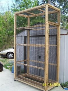 Flying Squirrel Cage | We also do sell these cages and dimensions can be altered.