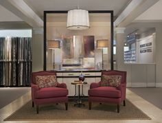 """Luxe Parlor"" in Robert Allen | Beacon Hill, Suite 28 by Corey Damen Jenkins of DWV Interiors Photo by Beth Singer"
