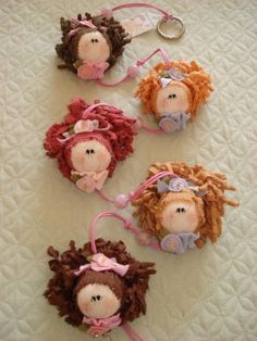 Tiny doll Fairy little doll Angel Miniature fairy doll Textile Angel Small doll Cute mini doll Pocket cloth dolls Rag doll Small soft doll Tiny Dolls, Soft Dolls, Fabric Dolls, Fabric Art, Making Wooden Toys, Christmas Crafts, Christmas Ornaments, Doll Hair, Doll Patterns