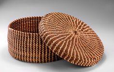 pine needle basket via the smithsonian