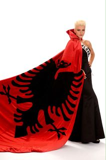National Costume in the 2008 Miss Universe Pageant held in Nha Trang, Vietnam: Albania, Matilda Mecini