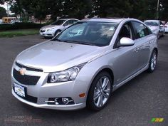 2012 Chevy Cruze LTZ RS Package | 2012 Chevrolet Cruze LTZ/RS in Silver Ice Metallic - 405936 | All ...
